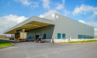Commercial Property Delivery Warehouse