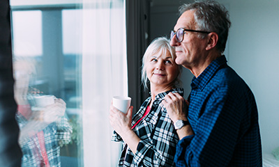 Older Couple with Condo Insurance